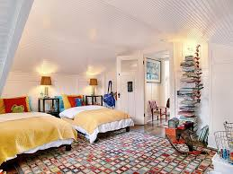 view in gallery fabulous rug fills this white eclectic kids room with plenty of color without overwhelming