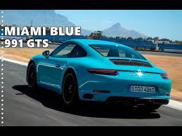 2018 porsche 911 gts. exellent 2018 2018 porsche 911 gts exclusive colors  miami blue u0026 racing yellow in porsche gts