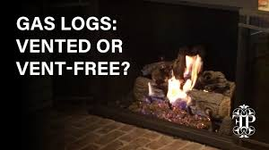 gas logs vented or vent free how to tell the difference and decide which one you need