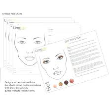 makeup face chart charts packet sheets s cosmetics professional range beauty app makeup face chart