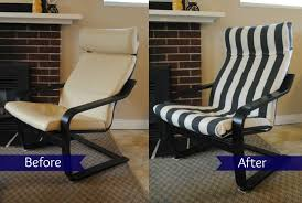 ikea poang chair recover