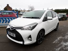 Used White Toyota Yaris for Sale   Dumfries and Galloway