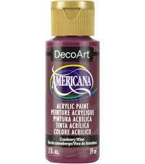 americana acrylic 2oz paint cranberry wine