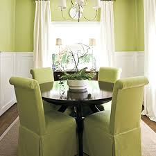 black dining chair covers. Dining Chairs: Furniture Small Room With Round Black Table Feat Green Chairs Chair Covers