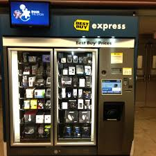 Best Buy Vending Machine Enchanting Best Buy Express Electronics Store In Orlando International Airport