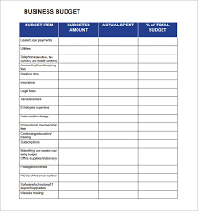 Business Budget Template Excel Free Detailed Lohmgk Runticino