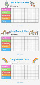 Printable Reward Charts For 4 Year Olds 32 Experienced Free Printable Behavior Chart For Toddlers