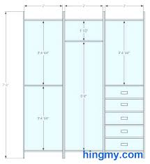 closet rod height for double hanging closet rod height shelf over single double mounting