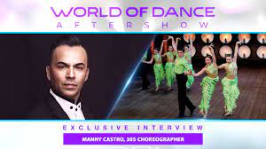 Choreographer Manny Castro Reveals His Secret for Getting Talent on World  of Dance - YouTube