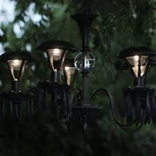 diy outdoor solar lighting ideas. light up your garden with this diy solar chandelier diy outdoor lighting ideas r