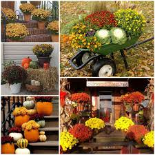 For Outdoor Decorations Outdoor Decor For Fall Decorating Ideas