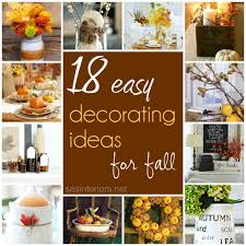 Marvelous 18 Easy Decorating Ideas For Fall Great Ideas