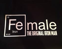 FeMale The original iron man Periodic Table