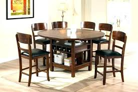 round kitchen table sets impressive tall square set small for and cha