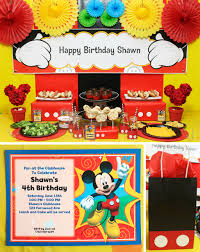 Mickey Mouse Clubhouse 2nd Birthday Invitations Ideas Create Your Best Party With Mickey Mouse Clubhouse