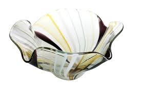 blown glass bowl this one of a kind hand blown glass bowl blown glass bowls wall