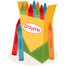 Image result for crayons clipart