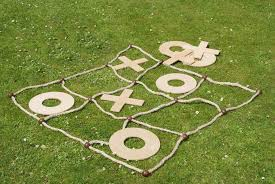 Wooden Naughts And Crosses Game Giant Noughts and Crosses from For Outdoors 89