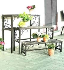 outside shelves plant best outdoor stands ideas on yard decor garden shelving unit sh