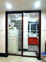 kitchen sliding door kitchen glass sliding door kitchen sliding door glass sliding doors without bottom track