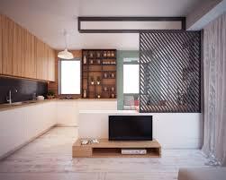 ... 40 Square Meters By Nikola Kungulovski. Tiny Apartment With Tv Stand  Furniture
