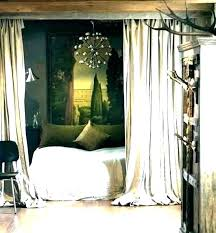 black canopy bed curtains – jamesdelles.com