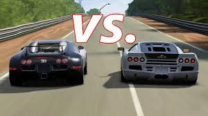 Home » car , sport car » ssc tuatara vs bugatti veyron ss. Forza 4 Ssc Ultimate Aero Vs Bugatti Veyron And Veyron Ss Youtube