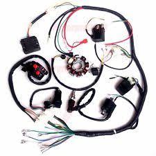 lifan 250 parts accessories complete electrics atv quad 200cc 250cc stator cdi wire harness zongshen lifan