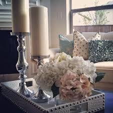 How To Decorate A Coffee Table Tray Decorating Coffee Table Centerpiece Ideas For Home Plus Decorating 86