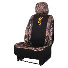 browning lifestyle low back mossy oak country neoprene seat cover