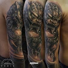 значение татуировки собака фу фото и эскизы тату собака фу
