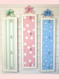 Growth Chart I Made These Myself With A Picture Frame And