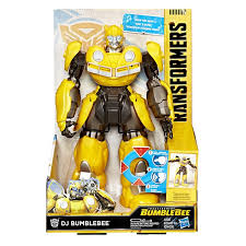 It came in three colors, yellow, red and blue. Dancing Bee Dj Bumblebee Movie Transformers Toy