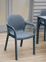 chair perky jessamine stackable chair plastic patio woven wicker perky jessamine stackable chair plastic patio woven wicker look outdoor chairs favorite for