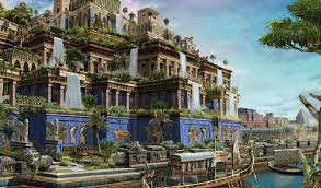Висячие сады Семирамиды легенды факты история Очевидное  Висячие сады Семирамиды легенда факты история
