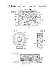 patent us4831851 combination electronic lock system google patents patent drawing