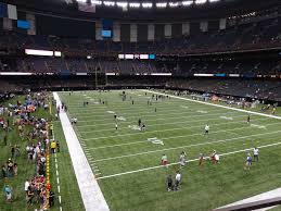 Saints Superdome Virtual Seating Chart Mercedes Benz Superdome View From Loge Level 205 Vivid Seats