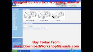 peugeot workshop manual - YouTube