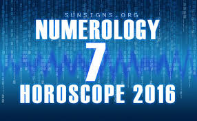 Free Numerology Chart 2016 Number 7 2016 Numerology Horoscope Sun Signs Astrology