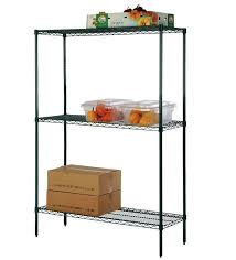 you can also purchase freezer dividers for this type of shelving to compartmentalize what goes where for enhanced organization food safe bins to