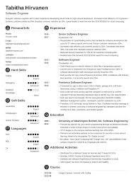 Software Engineering Resume Example Software Engineer Resume Guide And A Sample 20 Examples