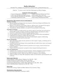 Sample Resume Medical Technologist Change Control Manager Cover