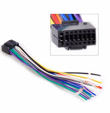 \u20a9dwcx new car radio stereo wire wiring harness cd player plug pioneer cd player wire harness at Cd Changer Wire Harness