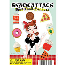 Snack Attack Vending Machine Adorable Buy Snack Attack Erasers Vending Capsules Vending Machine Supplies