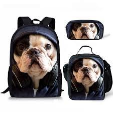 Summeridea 3D Animals <b>Pug Dog</b> Backpack For Child Boys Kids ...