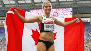 brianne theisen eaton wedding. proudly displaying the maple leaf after her silver medal win (ap photo/alexander zemlianichenko brianne theisen eaton wedding i