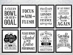 Bathroom Wall Art Poster <b>Prints</b>. Quality and funny sayings/quotes ...