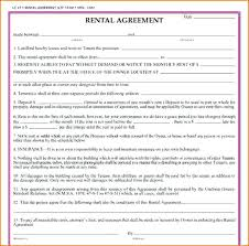 Free Printable Rental Agreement Beauteous Room Lease Agreement Template Fresh Printable Rental Forms Free To