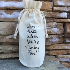 muslin wine bag funny wine e muslin gift bag hostess