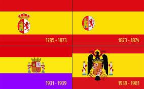 Resultado de imagen de A HISTORIA DE LA BANDERA DE ESPAÑA
